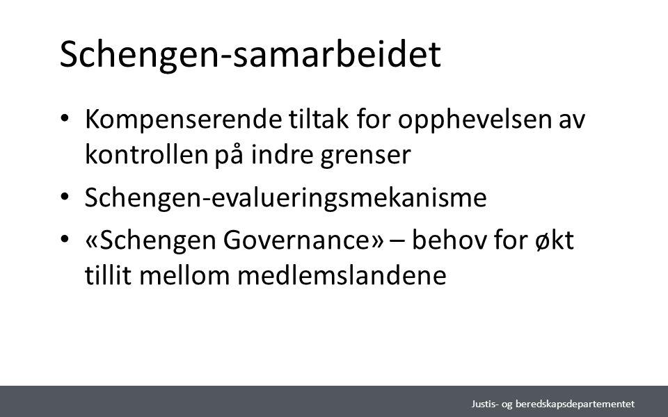 """Justis- og beredskapsdepartementet Norsk mal:Tekst med kulepunkter Tips bunntekst: For å sette inn sidenummer, dato og tittel: Klikk på """"Sett Inn"""" ->"""