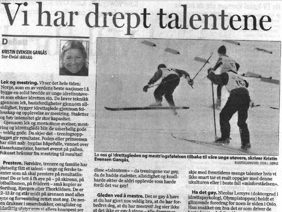 Side 26 • Aktivitetsutvikling • Fleksibilitet, flere idretter, konkurranseform, differensierering • Kompetanseløft • Gode trenere/aktivitetsledere, klubbledere.