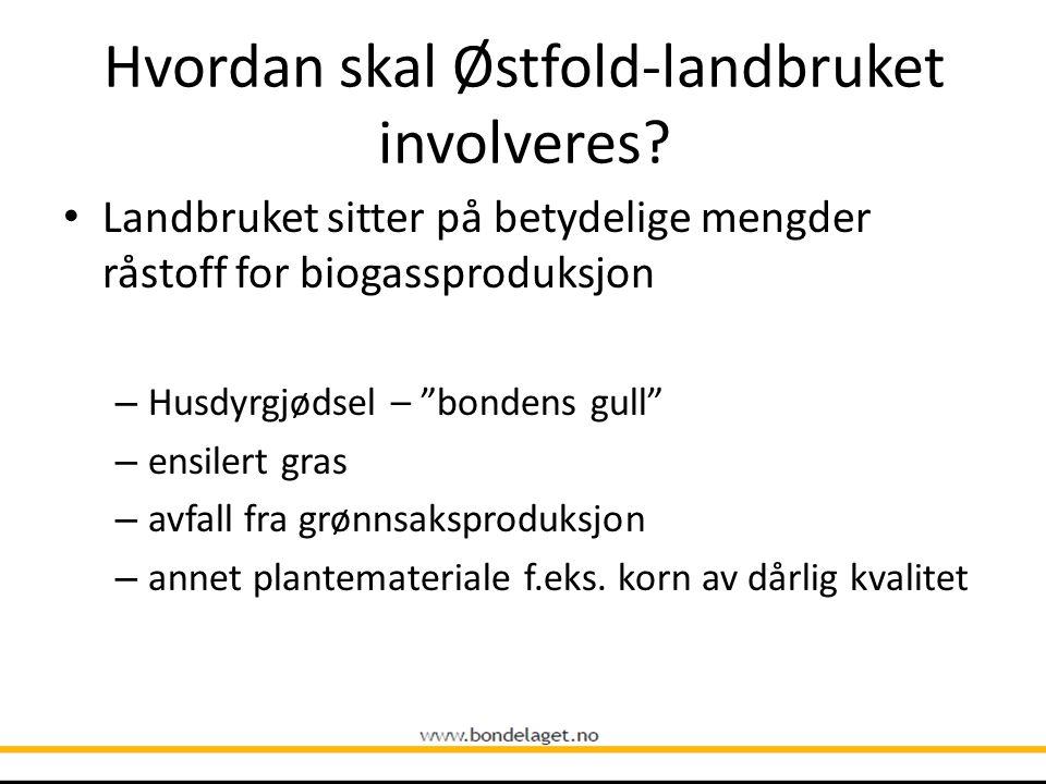 Hvordan skal Østfold-landbruket involveres.