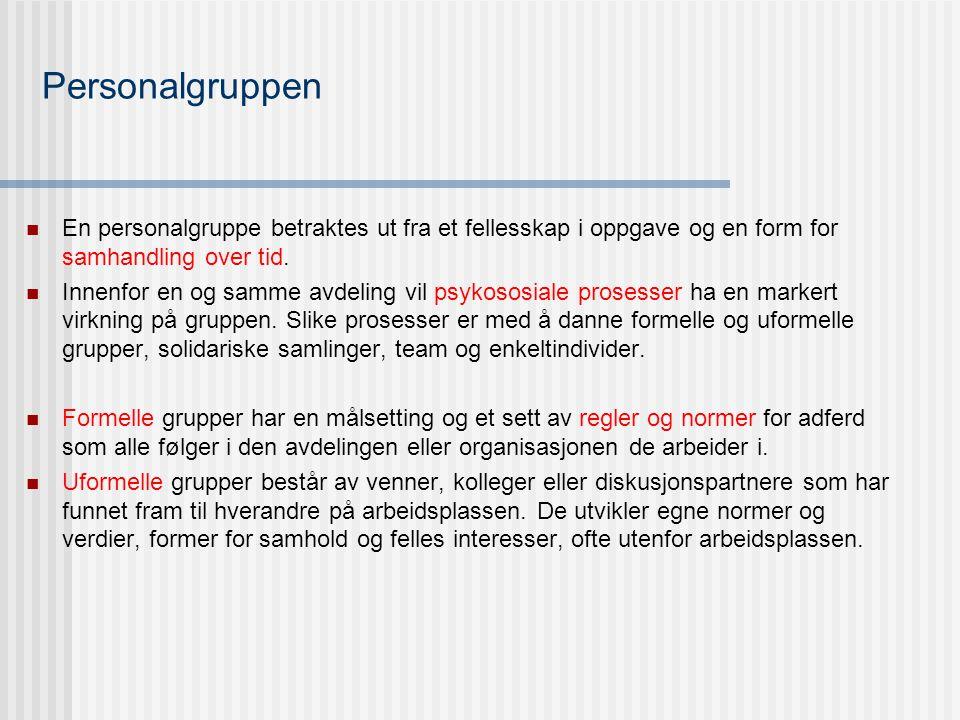 Psykososiale situasjoner  Se fagets hjemmesider.