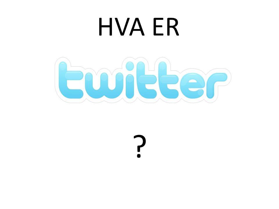 For å bli kjent med hva Twitter inneholder kan du f.