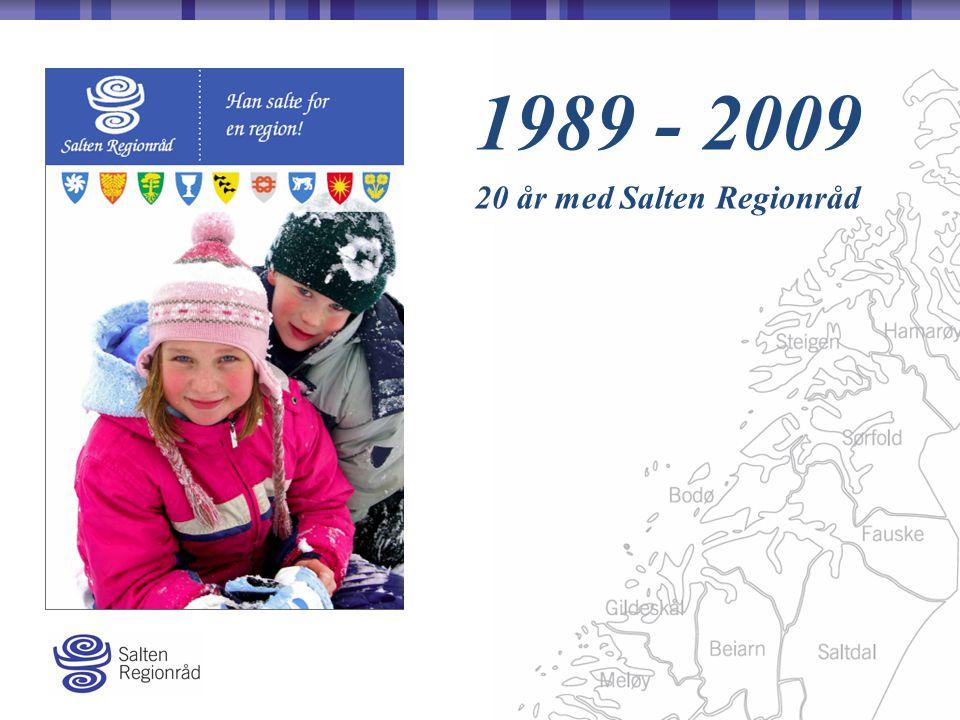 1989 - 2009 20 år med Salten Regionråd