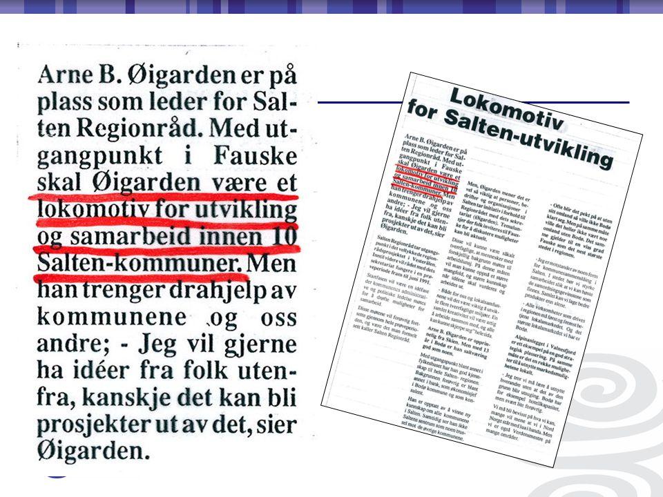 1989 – 1991Konrad Fjellgård 1992 – 1995Andreas Moan 1995 – 1999Fredrik Gransjøen 1999 – 2007Odd-Tore Fygle 2007 - ….Kjell Magne Johansen Regionrådsledere gjennom 20 år