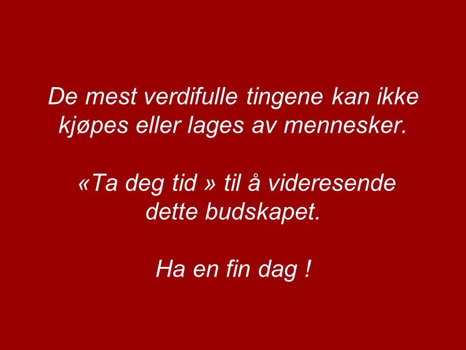 Glem IKKE: