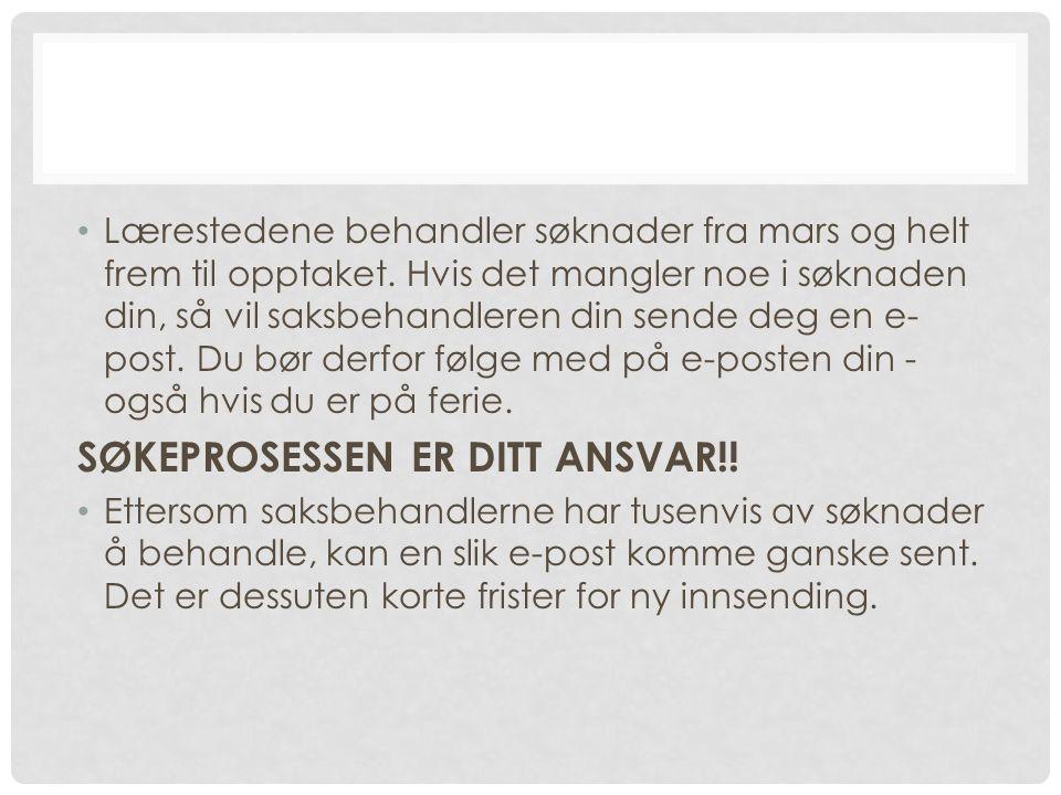 STUDIELÅN.