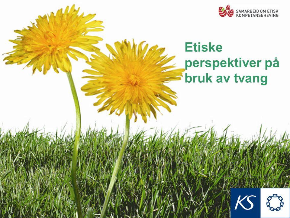 Undersøkelse om bruk av tvang i norske sykehjem(2005): •45% av pasientene i skjermede enheter for demente og 37% av pasientene i ordinære somatiske avdelinger ble utsatt for minst ett tvangstiltak i løpet av en uke.