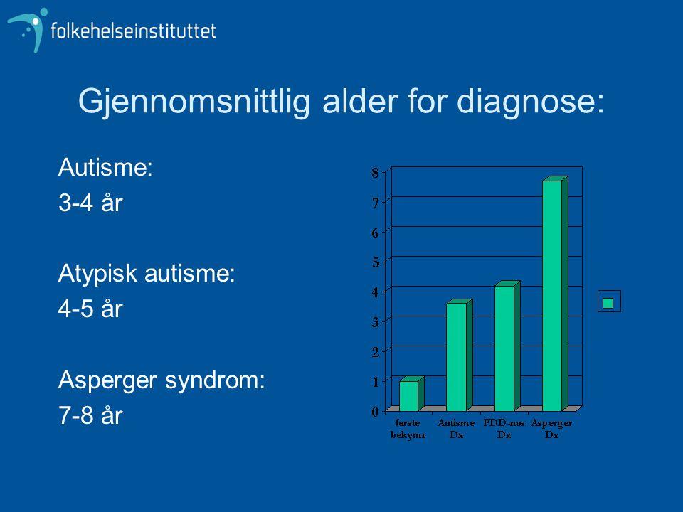 Differensialdiagnostiske utfordringer forts.ASD versus ulike syndromer.