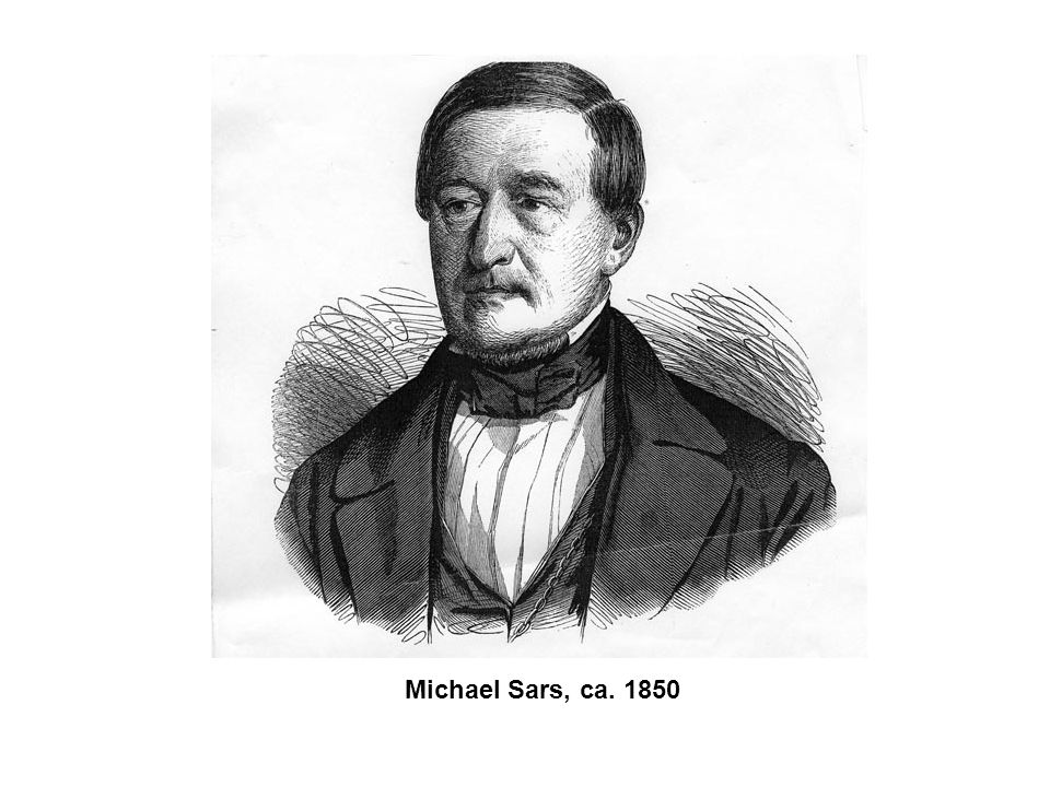 Michael Sars, ca. 1850