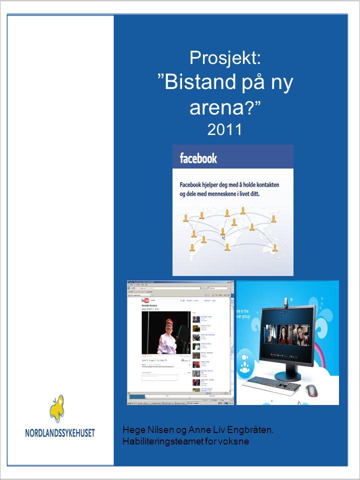 Prosjekt: Bistand på ny arena ? 2011 Hege Nilsen og Anne Liv Engbråten.