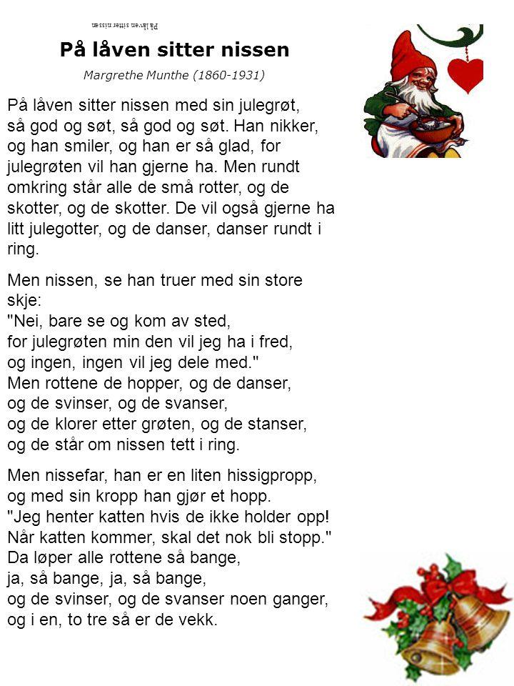 Jeg er så glad hver julekveld Tone: P.Knudsen Tekst: Marie Vexelsen 1.Jeg er så glad hver julekveld, for da ble Jesus født; da lyste stjernen som en sol, og engler sang så søtt.