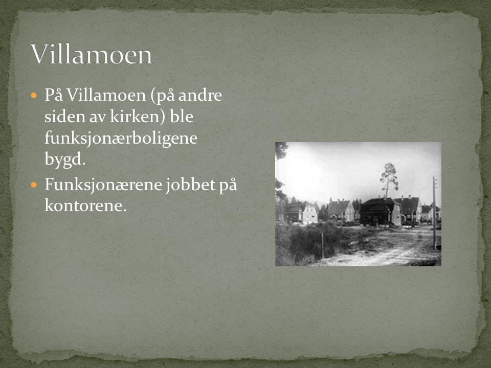  Hydro bygde boliger for arbeidere og for funksjonærer  Her ser du Grønnbyen i 1907 – navnet kom av at husene var grønnmalte  Grønnebyen ligger for