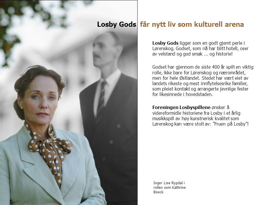Losby Gods får nytt liv som kulturell arena Losby Gods ligger som en godt gjemt perle i Lørenskog. Godset, som nå har blitt hotell, oser av velstand o