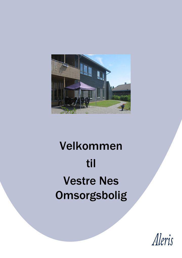 Vester Nes Omsorgsbolig har adresse Vestre Nes 11, og ligger idyllisk og solrikt til ved Holmen Kirke.