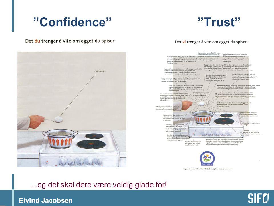 """Eivind Jacobsen """"Confidence""""""""Trust"""" …og det skal dere være veldig glade for!"""