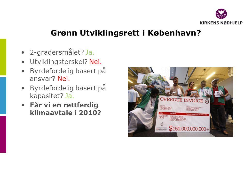 Grønn Utviklingsrett i København. •2-gradersmålet.