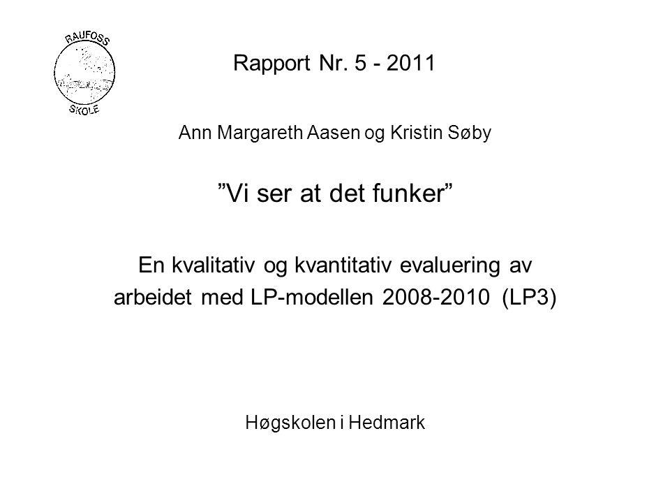 Rapport Nr.