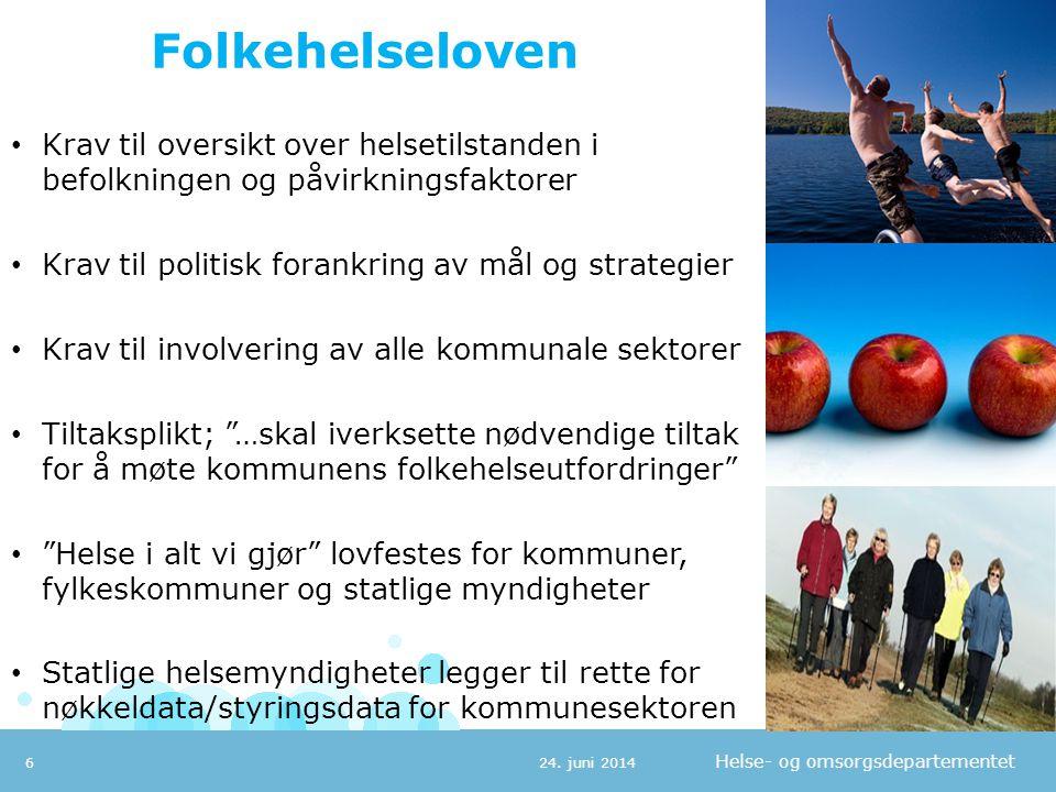 Helse- og omsorgsdepartementet Budsjettkorrigering 2012; Fra foretak til kommuner - Innenfor rammen 24.