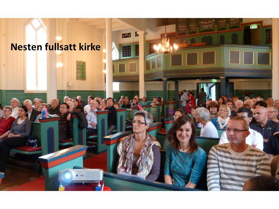 Svein Kjetil Haugset tolker Tilsynsmannen presenterer folket