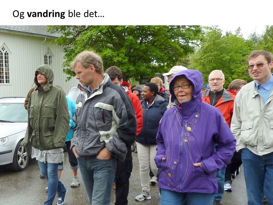 Svein Kjetil tar oss med på en historisk vandring
