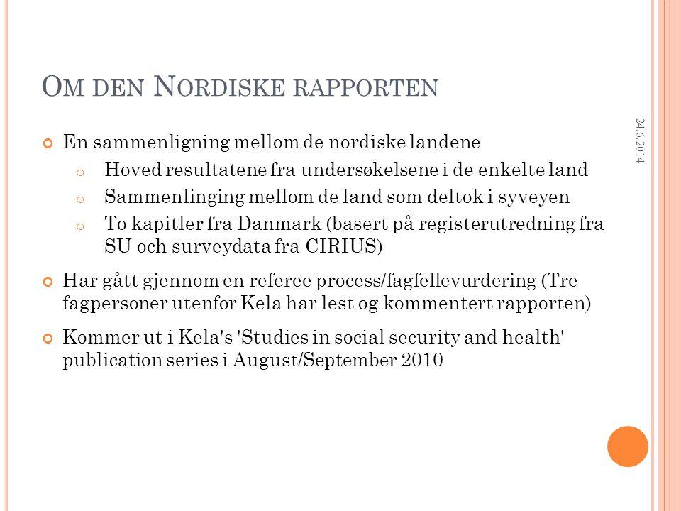 Research Department A NDEL SOM HAR ARBEIDET I UTLANDET ETTER AVSLUTTET UTDANNING 24.6.2014 Iceland: Shares for Iceland refer to all respondents.