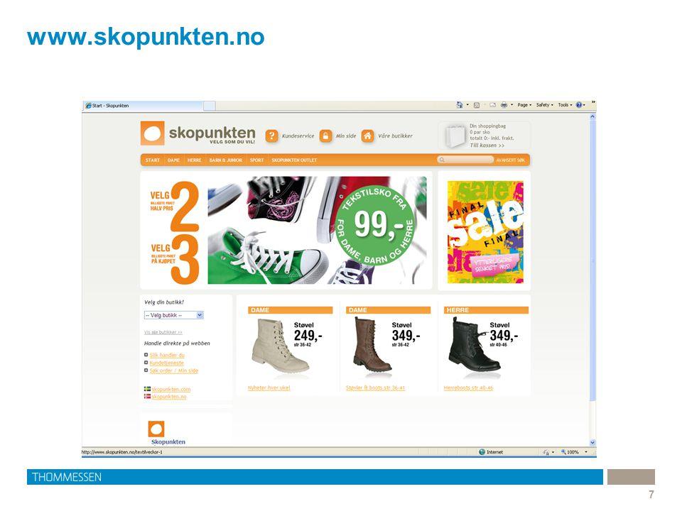 Bruk av varemerker i sponsede lenker 8 •Hva skjer når annonsørene kjøper et beskyttet varemerke som søkeord, og bruker det som en sponset lenke.