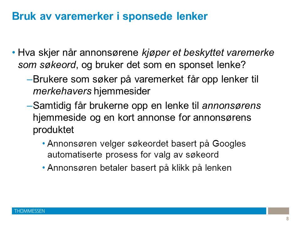 9 Norsk varemerkeregistrering nr 91704: TRIPP TRAPP