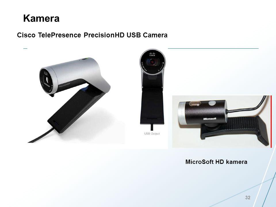 Kamera Cisco TelePresence PrecisionHD USB Camera 32 MicroSoft HD kamera