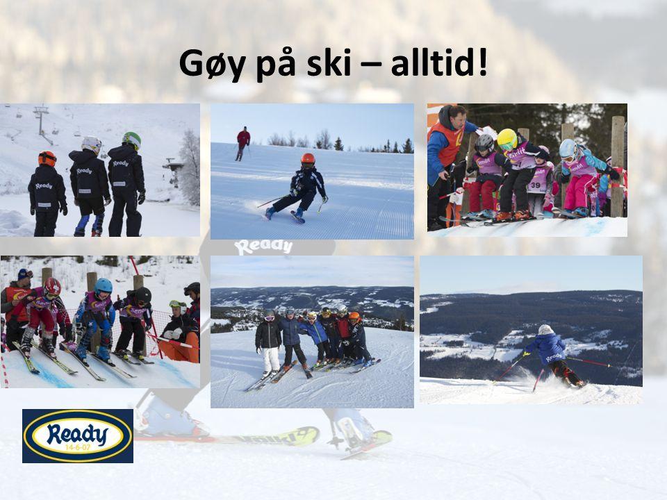Gøy på ski – alltid!