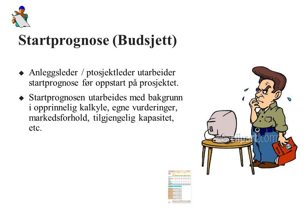 Disposisjon for statusrapport / prosjektrapport u Generell vurdering – Hvordan går det generelt sett.