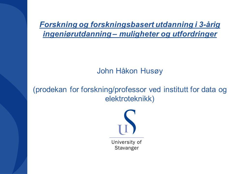 22 Fremstiling av grunnleggende sanneheter da og nå Ingeniøren 2020, Bergen 14-15. april 2010