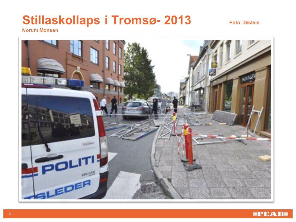 Stillaskollaps i Tromsø- 2013 Foto: Øistein Norum Monsen 3