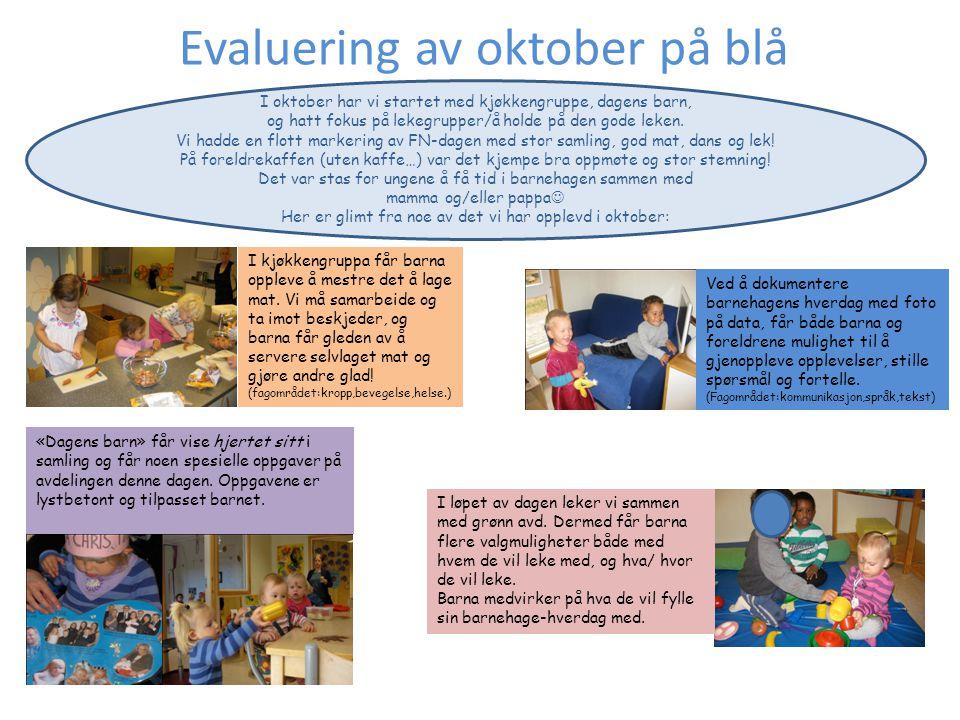 I barnehagen skal barna få erfare sine kreative sider og skaperglede ved formingsaktiviteter.