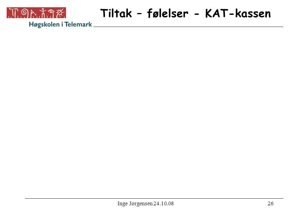 Inge Jørgensen 24.10.0827 Tiltak – følelser - KAT-kassen