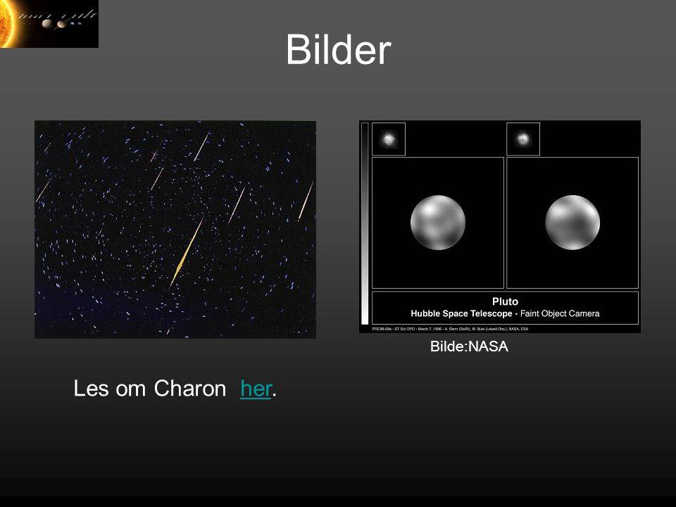 Bilder Les om Charon her.her Bilde:NASA