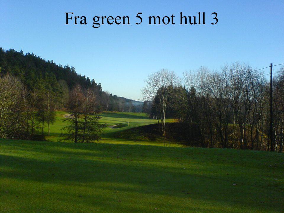 Fra green 5 mot hull 3