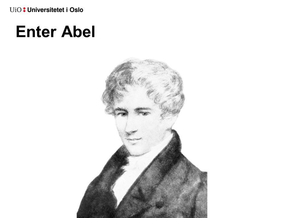 Enter Abel