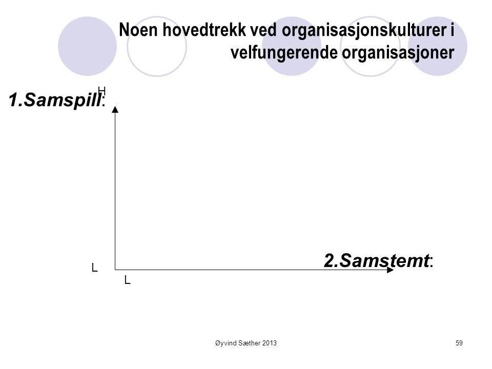 ORGANISASJONSKULTUR Modeller av og for handling • felles • lært • tatt for gitt System av mening - styrende ideer • handlingsmønstre • systemer • stru