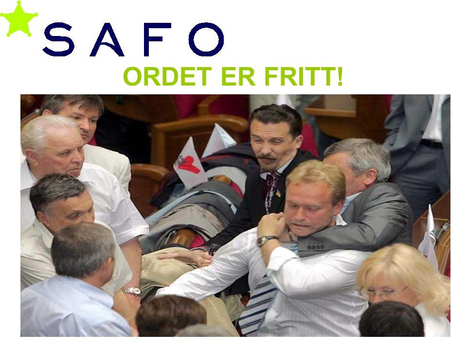 Geir Smeby ORDET ER FRITT!