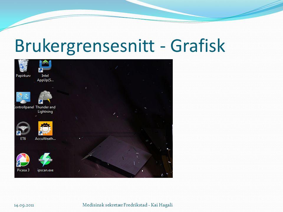 Avinstallere  Finn rett program, klikk en gang, menyvalg avinstallere øverst 14.09.2011Medisinsk sekretær Fredrikstad - Kai Hagali