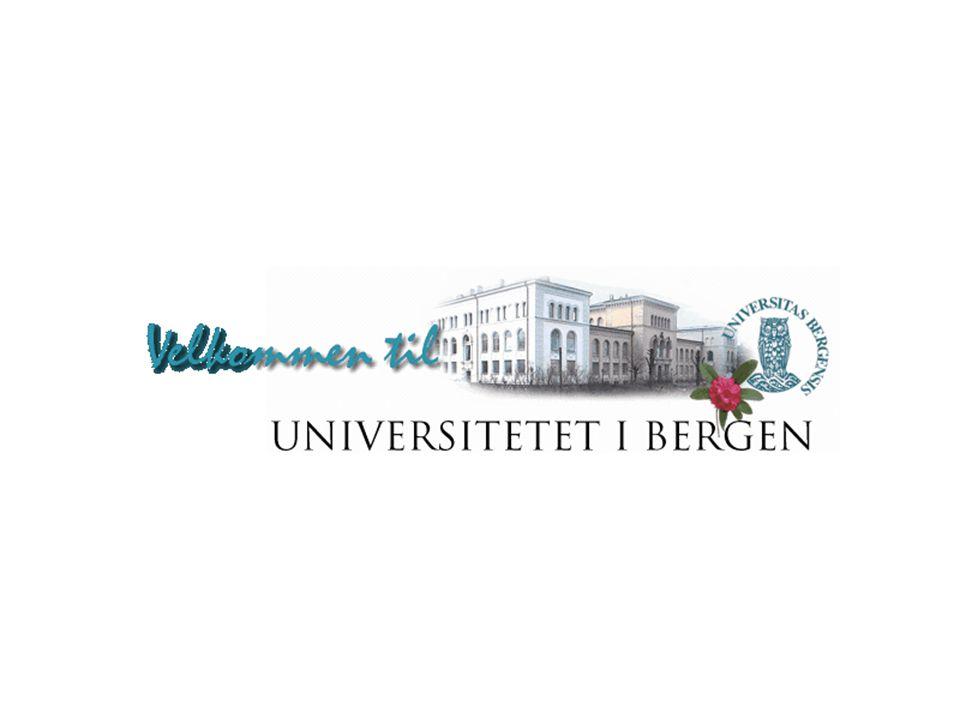 Varmepumpeanlegget ved Universitetet i Bergen  prosjektet startet 1994  grunntanken for UIB er å få redusert bruk av energi totalt sett, samt framstå som et 'grønt universitet' miljømessig  utviklingsfasen i nært samarbeid med Sintef, anlegget er relativt unikt  prosjektet er nå i avslutningsfasen, gjenstår 2 sekundærpumper (2006)