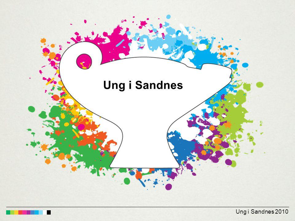 Ungdata-undersøkelsen i Sandnes 2010 Nøkkeltall (ungdomsskolen) FAKTA OM UNDERSØKELSEN: •Tidspunkt: Uke 47 – 49 •Klassetrinn: 8.