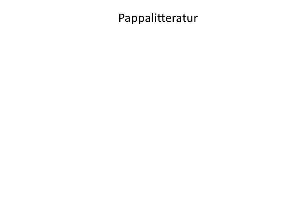 Pappalitteratur