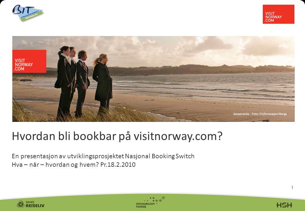 1 Hvordan bli bookbar på visitnorway.com.