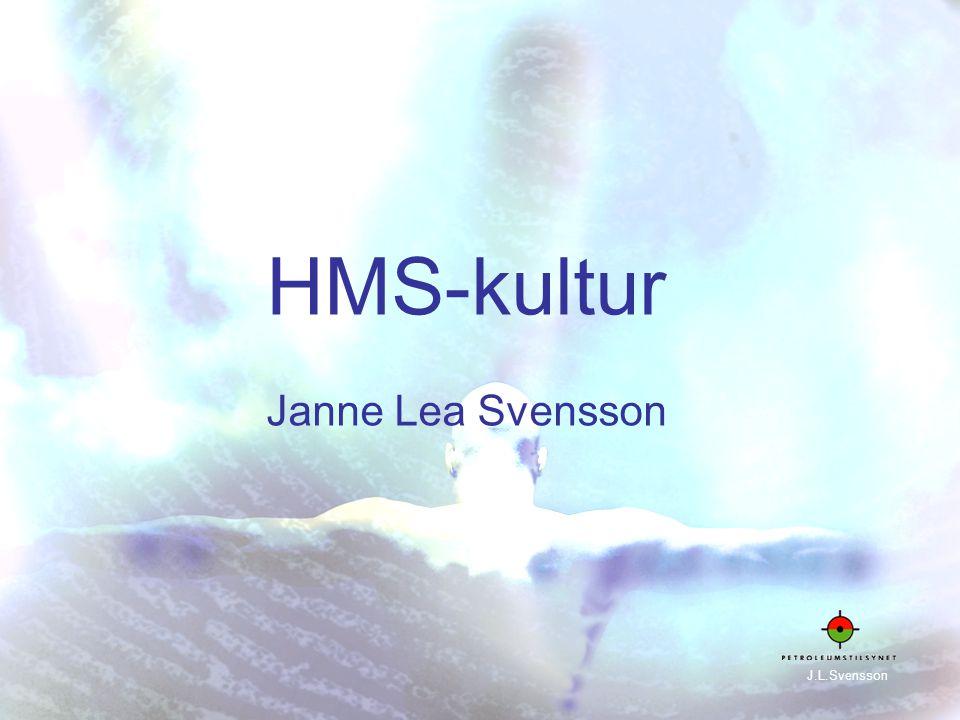 1 HMS-kultur Janne Lea Svensson J.L.Svensson
