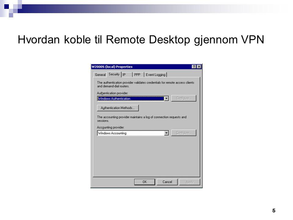 6  IP: Velg static address pool, hvis DHCP-server ikke er installert på serveren.