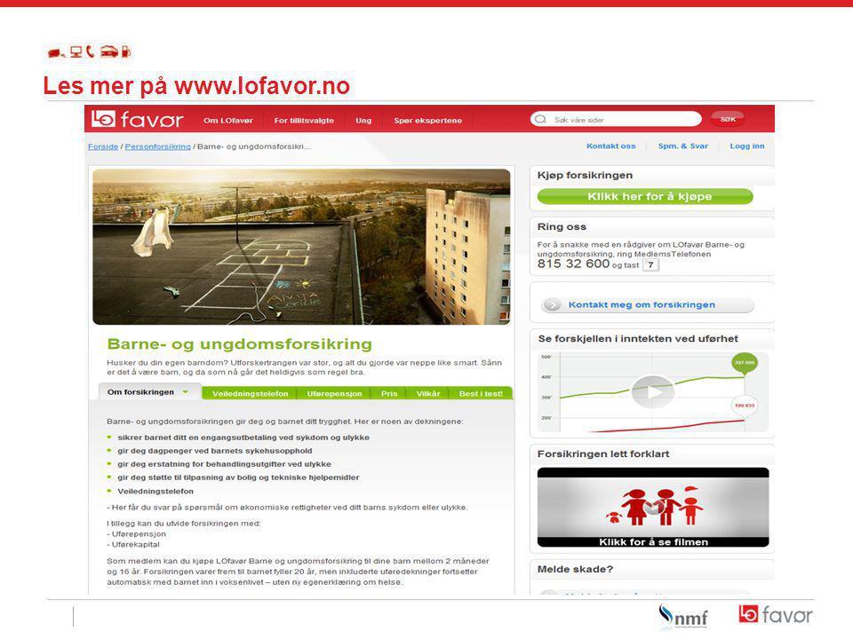 Les mer på www.lofavor.no