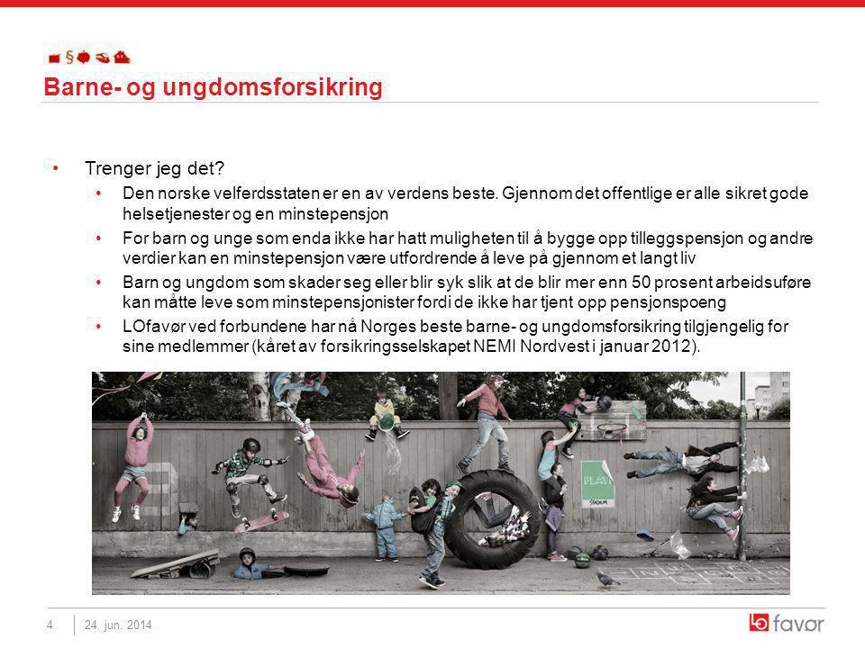 •Trenger jeg det. •Den norske velferdsstaten er en av verdens beste.