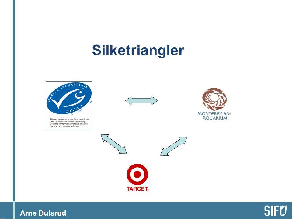 Arne Dulsrud Silketriangler