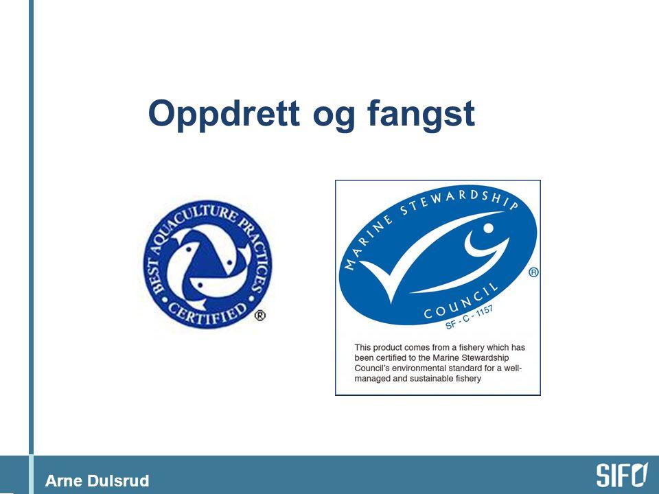 Arne Dulsrud Oppdrett og fangst