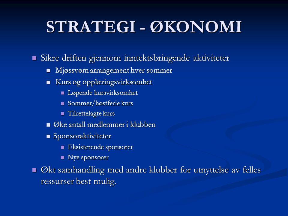 STRATEGI - SOSIALT  Utarbeide årlig aktivitetsplan for sosiale aktiviteter  Årshjul med plan for året kopiert ut til alle hvert år.